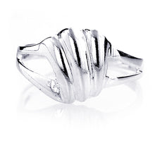 Load image into Gallery viewer, Sterling Silver Plain Polished Ring