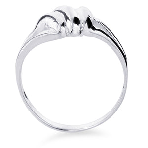 Sterling Silver Plain Polished Ring