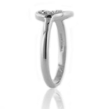 Load image into Gallery viewer, Diamond Accent Purity Heart & Cross Ring