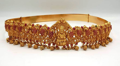 Temple Jewellery Kamarbandh Belt