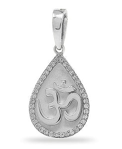 Om diamond Pendant