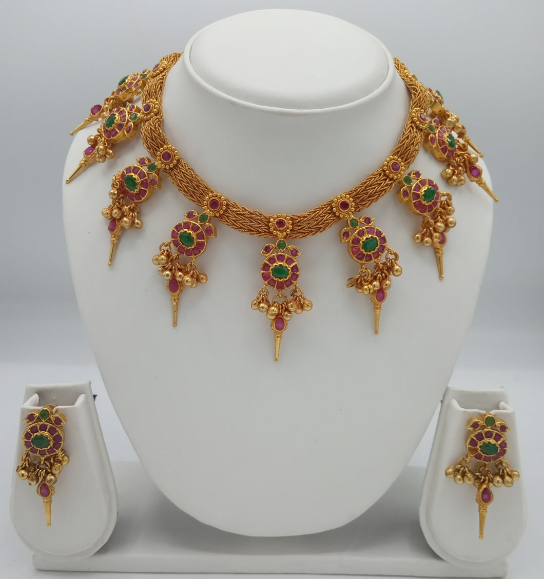 Bridal Jewellery Necklace Earring Set