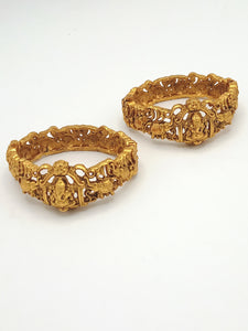 Temple Jewellery Bangle pair