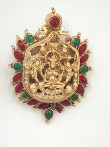 Temple Jewellery Small Pendant