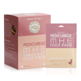 PEDICUREUS MHE GINGER ROOT FOOT PADS