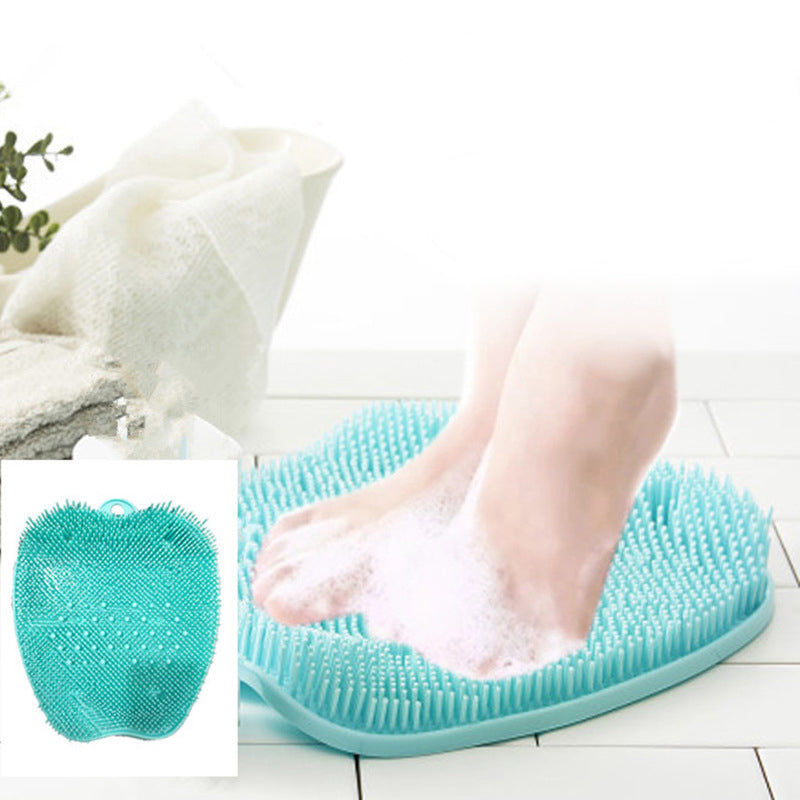 Shower foot scrubber & cleaner-Improves Foot Circulation & Reduces Foot Pain-Non Slip-Non bend over