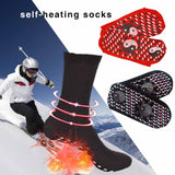 New Self-Heating Health Care Socks Tourmaline Magnetic Therapy Comfortable And Breathable Massager Winter Warm Foot Care Socks