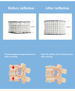 Medical Decompression Belt Lumbar Support Disc Herniation Belt Therapy Traction Device Waist Muscle Strain Relief