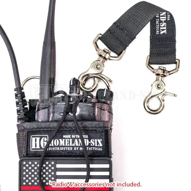 H6 Anti Sway Strap (Black) H6 Radio Straps