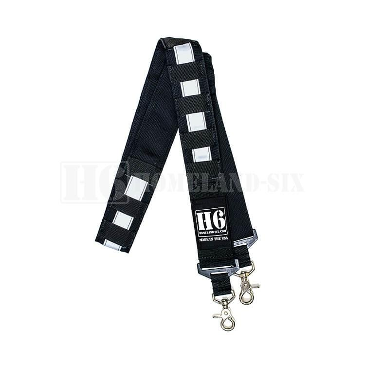 H6 Frontline Radio Strap Kit w/ 3M Silver Reflective Combos H6 Radio Straps
