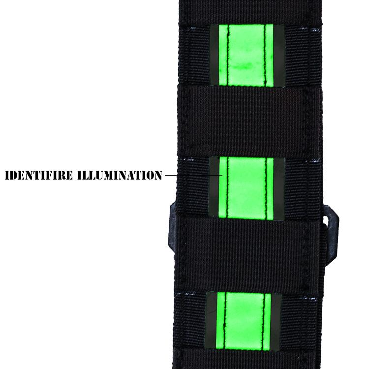 H6 IdentiFire Glow Custom Tactical Radio Strap