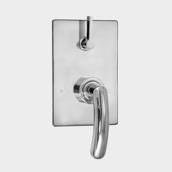Sigma 1.0S9251T E-Mini Thermostatic Integrated Rectangle Plate Trim Only w/Prana Handles