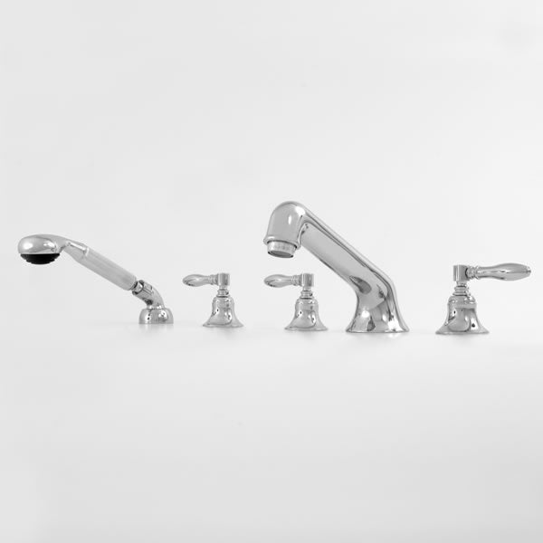 Sigma 1.152793 Roman Tub Set w/Diverter & Handshower w/Huntington Handles