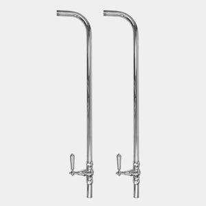 "Sigma 1.1859246 Risers & Shut-Off Kit For Floor Mounting (32"" Tall) w/Monte Carlo Handles"