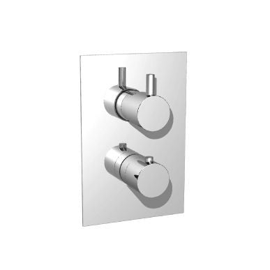 "Isenberg 100.4301-P 3/4"" Thermostatic Valve with 3-Way Diverter and Trim"