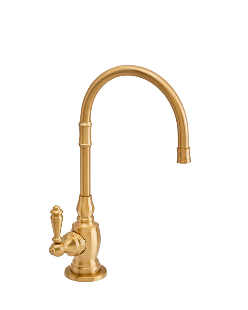 Waterstone 1202H Pembroke Hot Only Filtration Faucet - Lever Handle