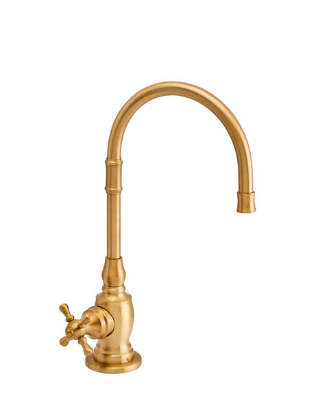 Waterstone 1252C Pembroke Cold Only Filtration Faucet - Cross Handle