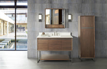 "Load image into Gallery viewer, Fairmont 1505-V48 M4 48"" Vanity Natural Walnut"