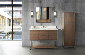 "Fairmont 1505-V48 M4 48"" Vanity Natural Walnut"