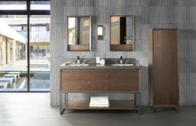 "Load image into Gallery viewer, Fairmont 1505-V6021D M4 60"" Vanity Natural Walnut"