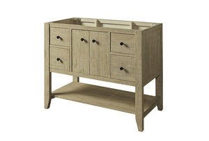 "Fairmont 1516-VH42 River View 42"" Open Shelf Vanity"
