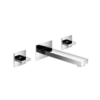 Isenberg 160.1900-P Two Handle Wall Mounted Bathroom Faucet