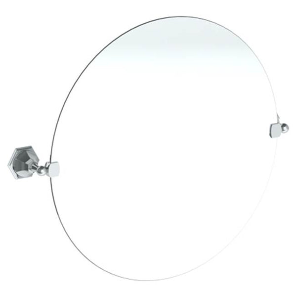 "Watermark 205-0.9C Beverly Wall Mounted 24"" Round Pivot Mirror"