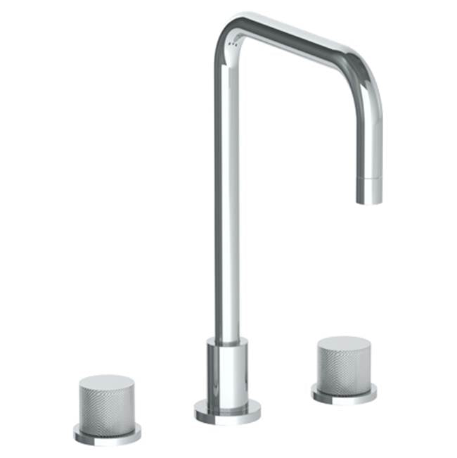 Watermark 22-7-TIA Titanium Deck Mounted 3 Hole Square Top Kitchen Faucet