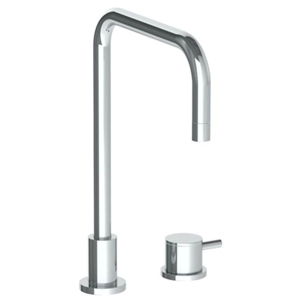 Watermark 22-7.1.3-TIB Titanium Deck Mounted 2 Hole Square Top Kitchen Faucet
