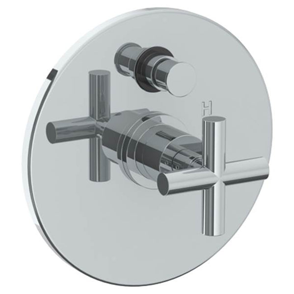 "Watermark 23-P90-L9 Loft 2.0 Wall Mounted Pressure Balance Shower Trim With Diverter 7"" Diameter"