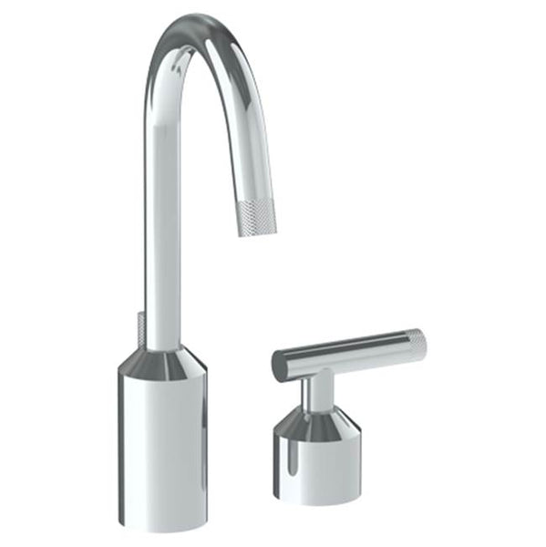 Watermark 25-1.3GX-IN14 Urbane Deck Mounted 2 Hole Extended Lavatory Set With Gooseneck Spout