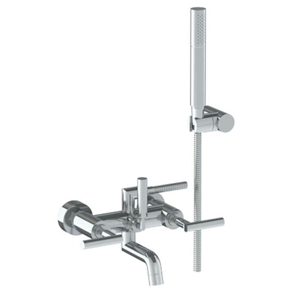 Watermark 27-5.2-CL14 Sense Wall Mounted Exposed Bath Set With Hand Shower
