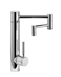 "Waterstone 3600-12 Hunley Kitchen Faucet - 12"" Articulated Spout"