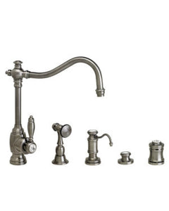 Waterstone 4200-4 Annapolis Kitchen Faucet 4pc. Suite