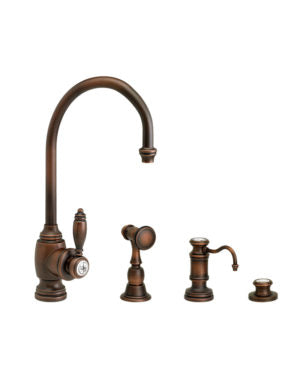 Waterstone 4900-3 Hampton Prep Faucet 3pc. Suite