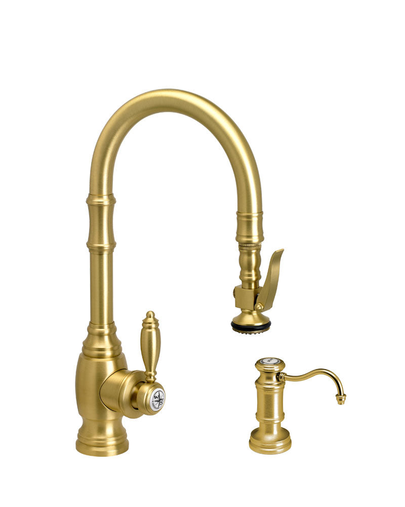 Waterstone 5200-2 Traditional Prep Size PLP Pulldown Faucet 2pc. Suite