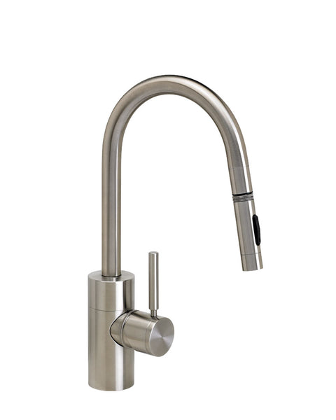 Waterstone 5910 Contemporary Prep Size PLP Pulldown Angled Spout Faucet w/Toggle Sprayer