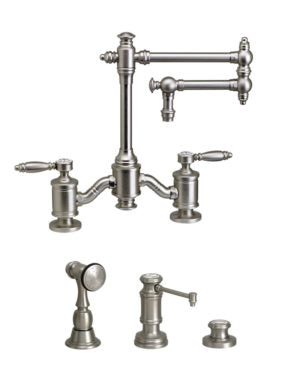 Waterstone 6100-12-3 Towson Bridge Faucet w/12