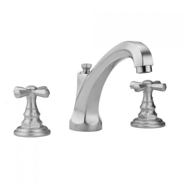 Jaclo 6872-T676 Westfield High Profile Faucet with Hex Cross Handles