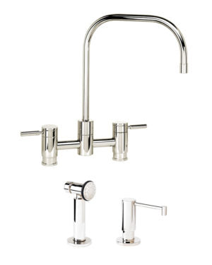 Waterstone 7825-2 Fulton Bridge Faucet 2pc. Suite