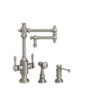 Waterstone 8010-12-2 Towson Two Handle Kitchen Faucet - 12