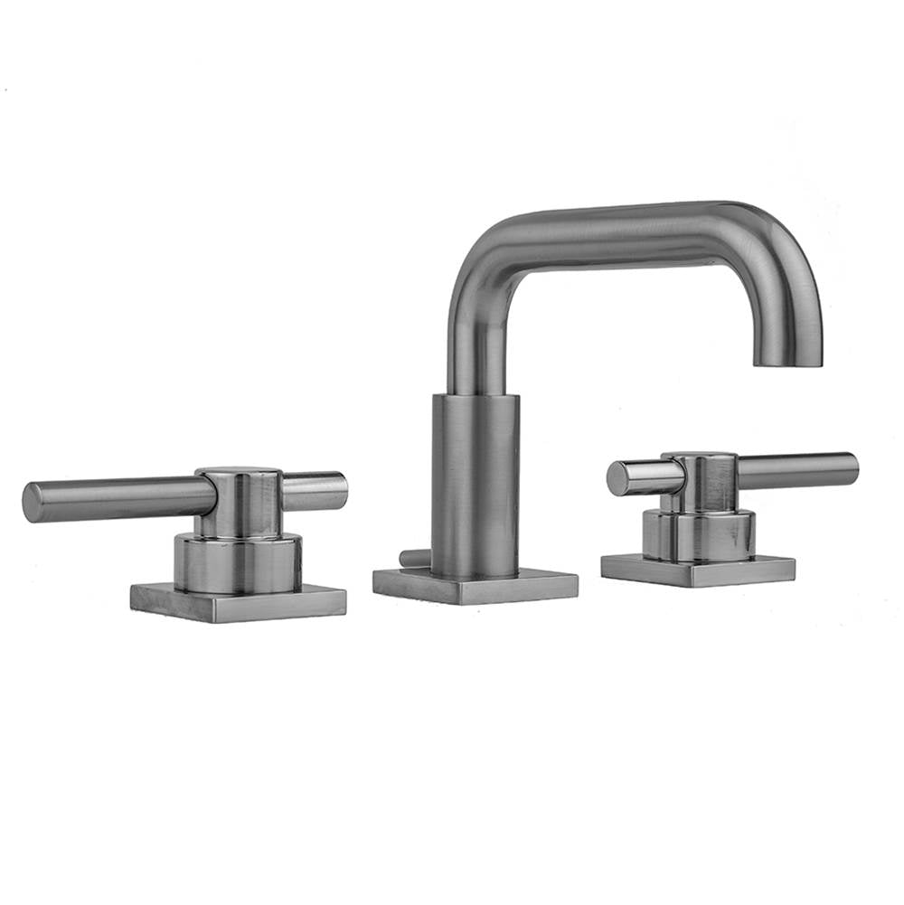 Jaclo 8883-TSQ638 Downtown  Contempo Faucet with Square Escutcheons & Peg Lever Handles