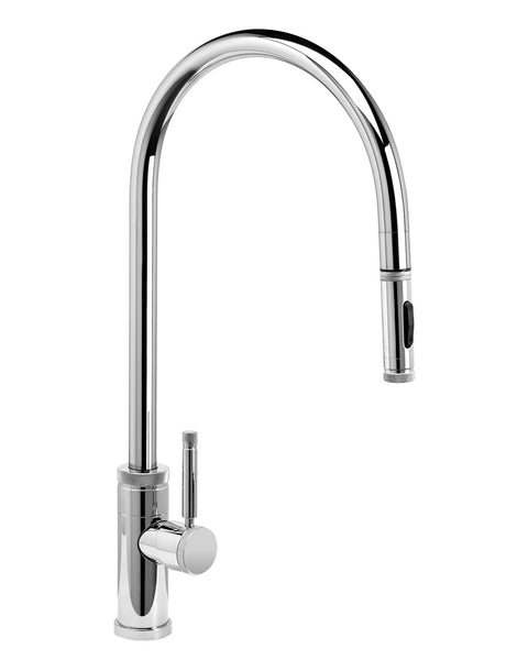 Waterstone 9300 Industrial Extended Reach PLP Pulldown Faucet w/Toggle Sprayer