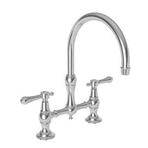 Newport Brass 9457 Chesterfield Kitchen Bridge Faucet