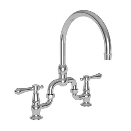 Newport Brass 9463 Chesterfield Kitchen Bridge Faucet