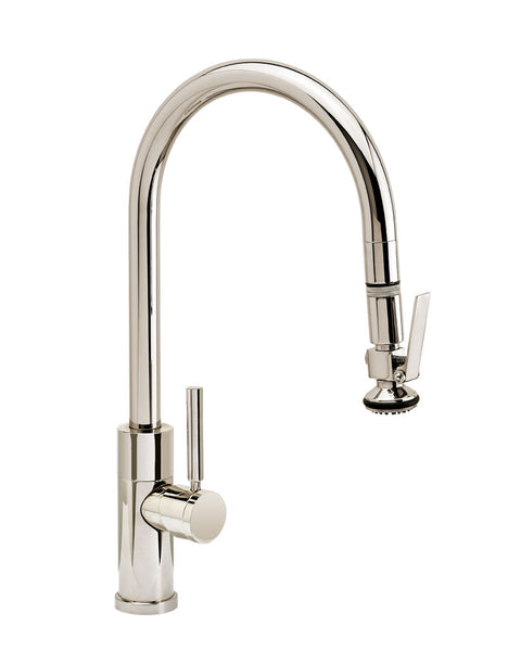 Waterstone 9860 Modern PLP Pulldown Angled Spout Faucet