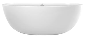 Hydro Systems ALA5831HTO Alamo 58 X 31 Metro Collection Soaking Tub