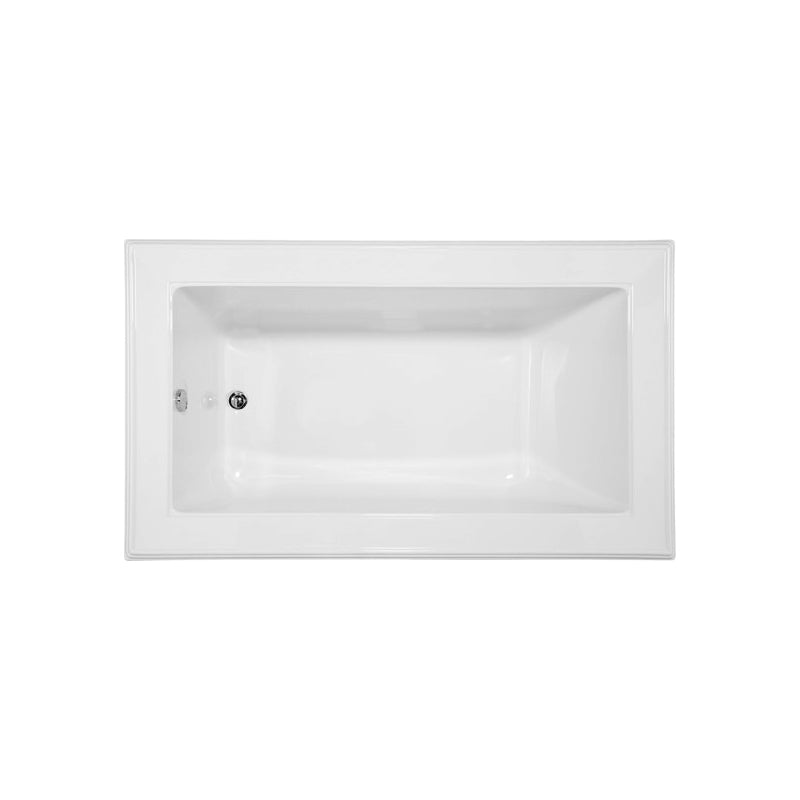 Hydro Systems ANE7242ATO Angel 72 X 42 Acrylic Soaking Tub End Drain