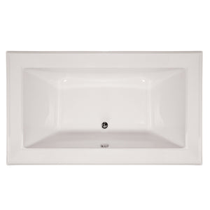 Hydro Systems ANG7242ATO Angel 72 X 42 Center Drain Acrylic Soaking Tub