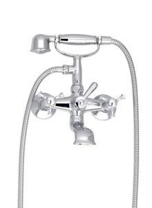 BARiL B71-1201-01 Eva Exposed Tub-Shower Mixer With Hand Shower